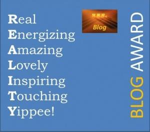 5 Reality Blog Award